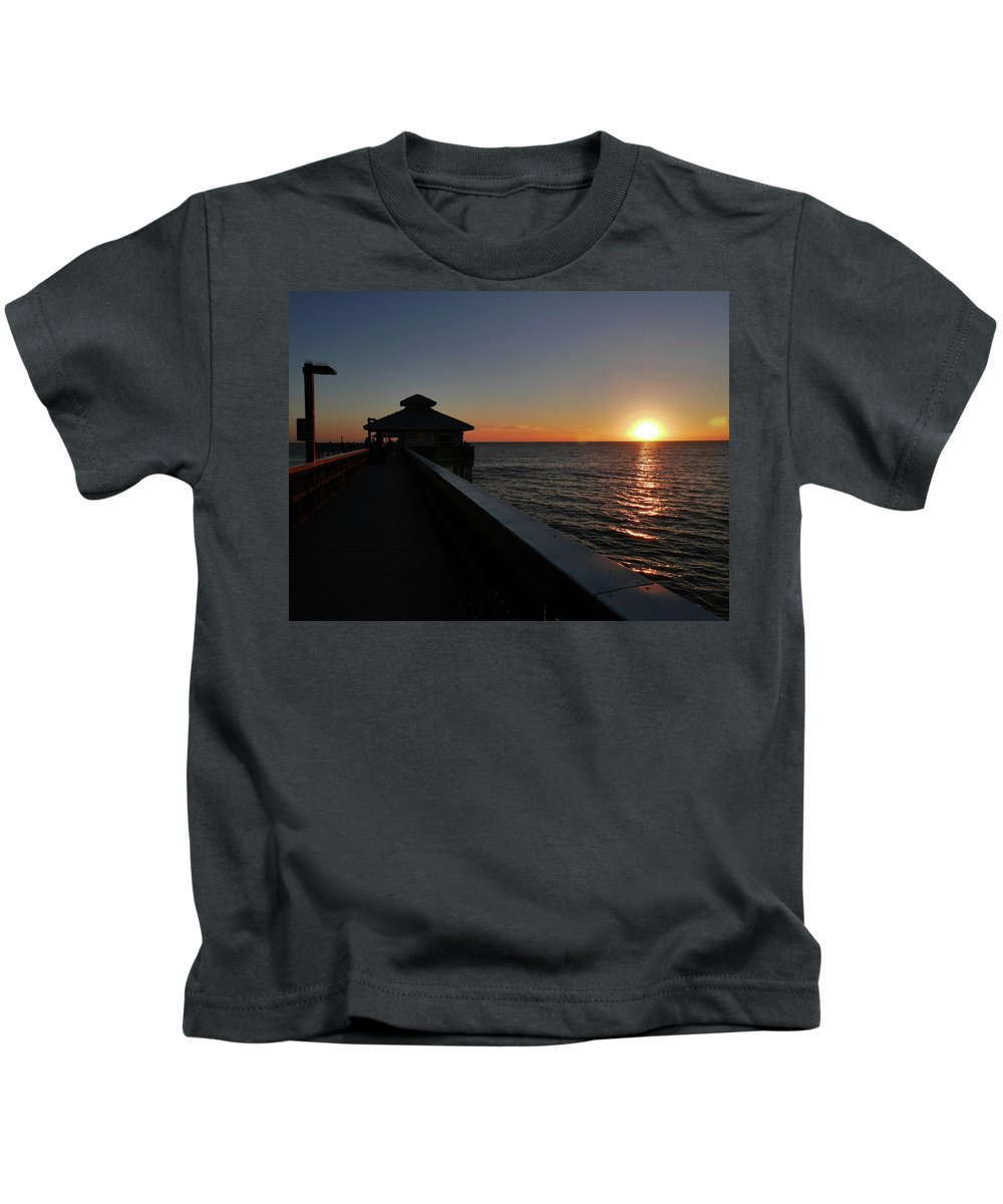 Florida Kids T-Shirt featuring the photograph Fort Myers Beach Florida II by Tina Baxter