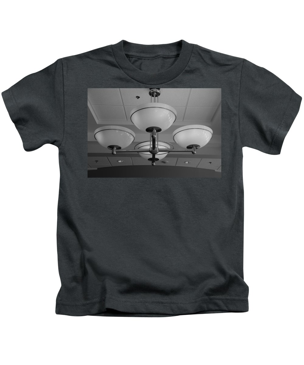 Lights Kids T-Shirt featuring the photograph Four Lights by Rob Hans