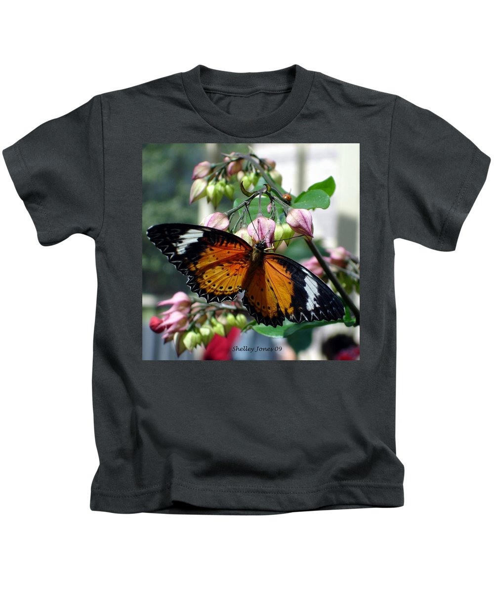 Photography Kids T-Shirt featuring the photograph Friends Come In Small Packages by Shelley Jones
