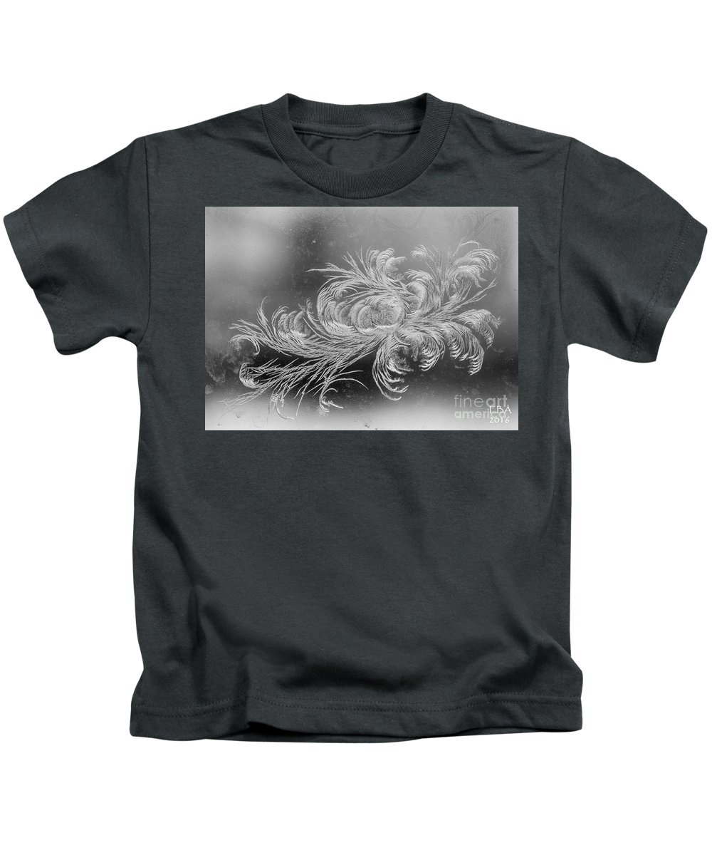Frost Kids T-Shirt featuring the photograph Frost 2 by Elaine Berger