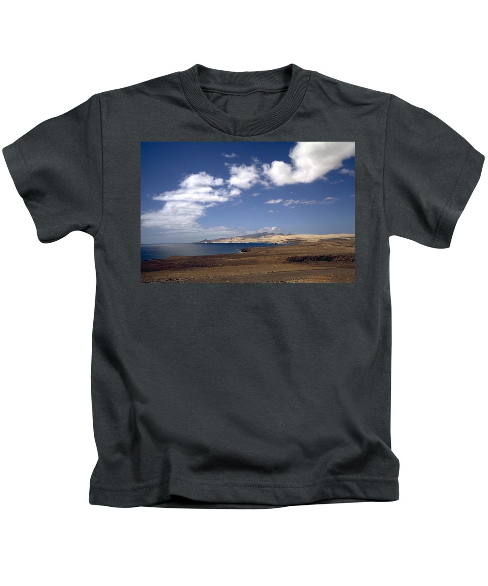 Fuerteventura Kids T-Shirt featuring the photograph Fuerteventura II by Flavia Westerwelle