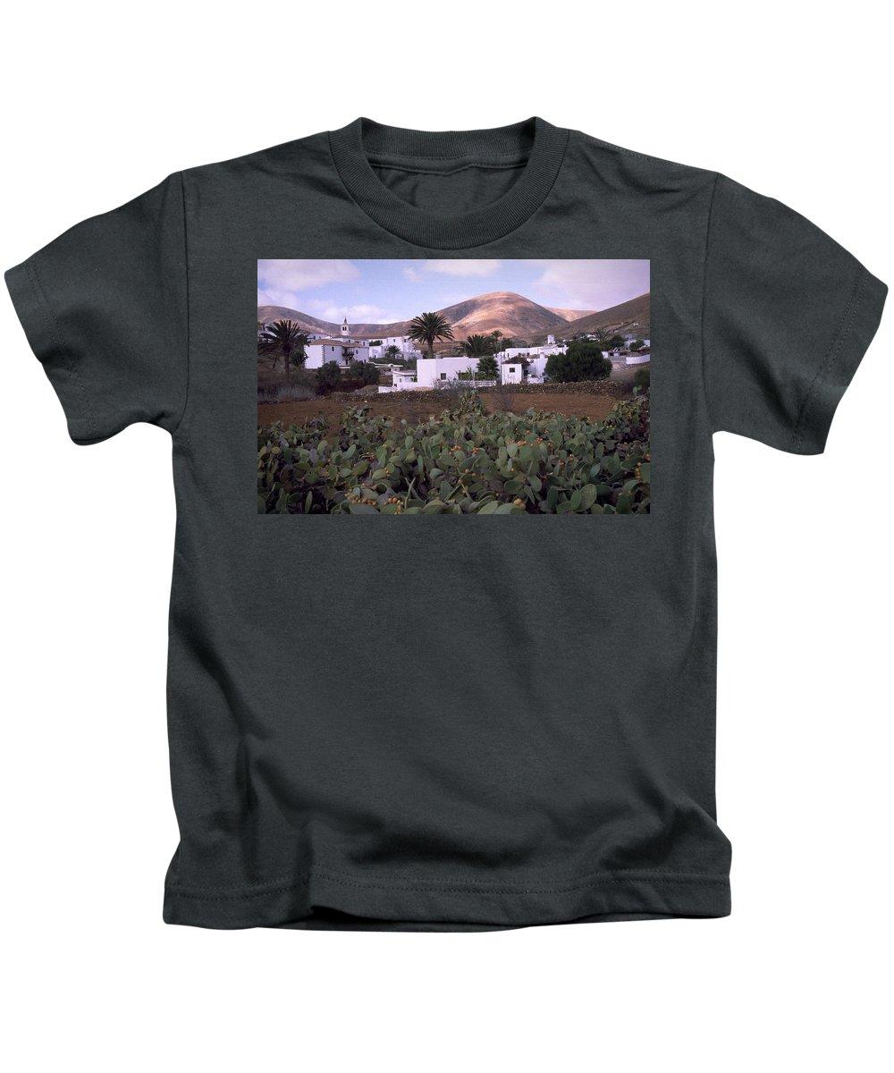 Fuerteventura Kids T-Shirt featuring the photograph Fuerteventura Iv by Flavia Westerwelle