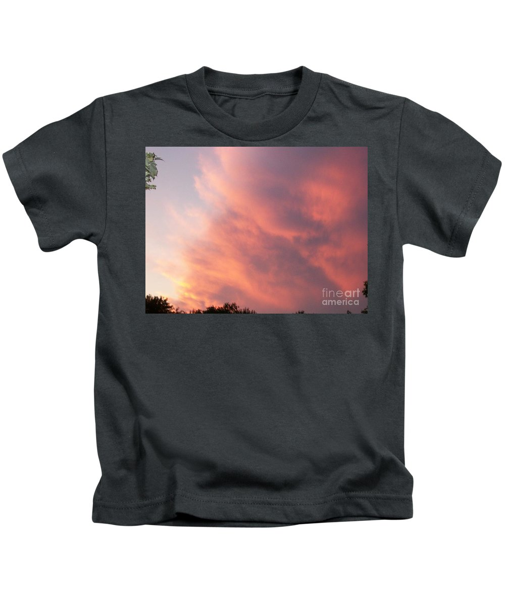 Nature Kids T-Shirt featuring the photograph Futile Faces by Stephen King