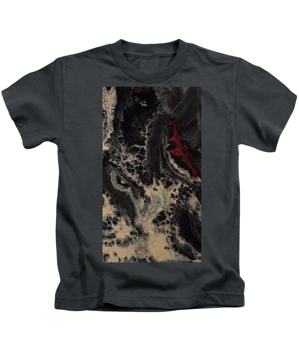 Fantasy Kids T-Shirt featuring the painting Mermaid Gathering by Christine Bishop
