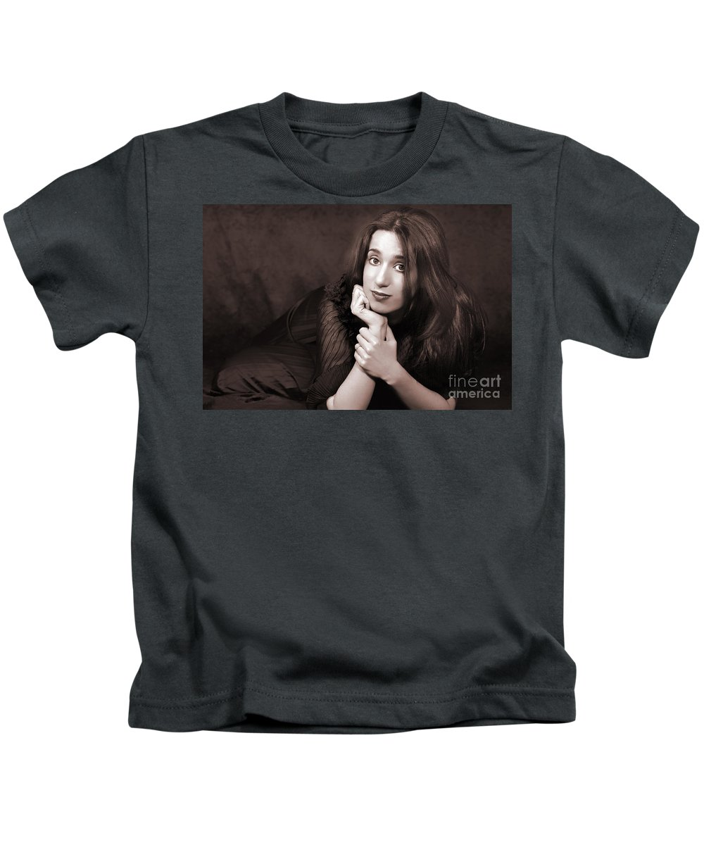 Clay Kids T-Shirt featuring the photograph Gaze by Clayton Bruster