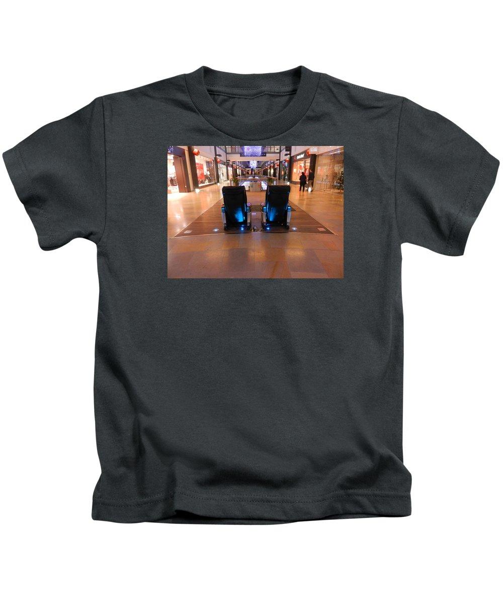 Nik Watt Kids T-Shirt featuring the photograph Get The Massage by Nik Watt