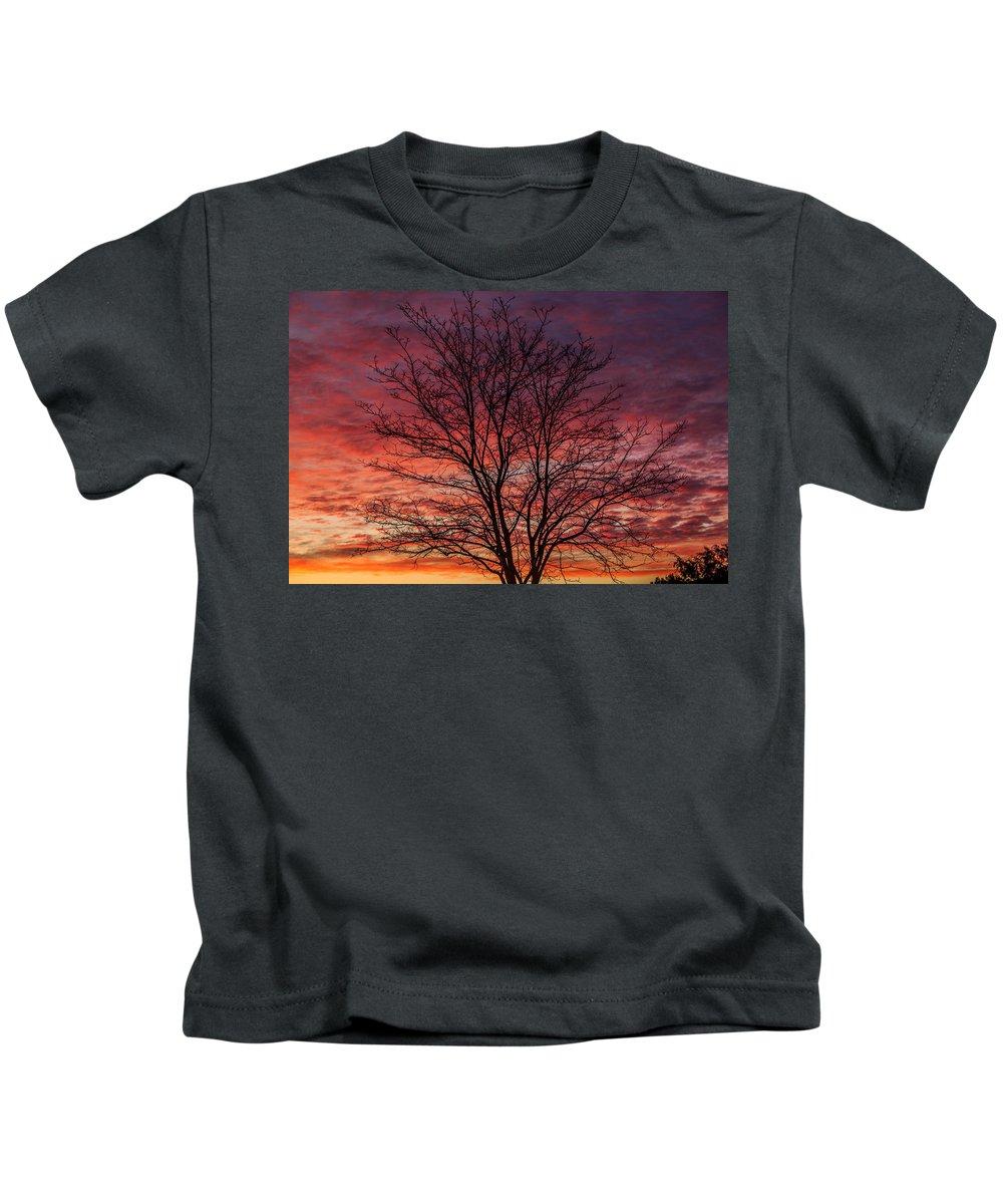 Sunrise Kids T-Shirt featuring the photograph Glen Iris Sunrise by Robert Caddy