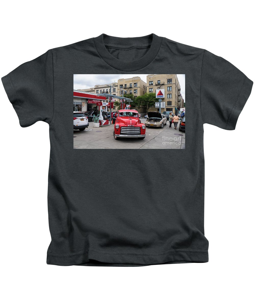 Pickup Kids T-Shirt featuring the photograph Gmc Pickup by Cole Thompson