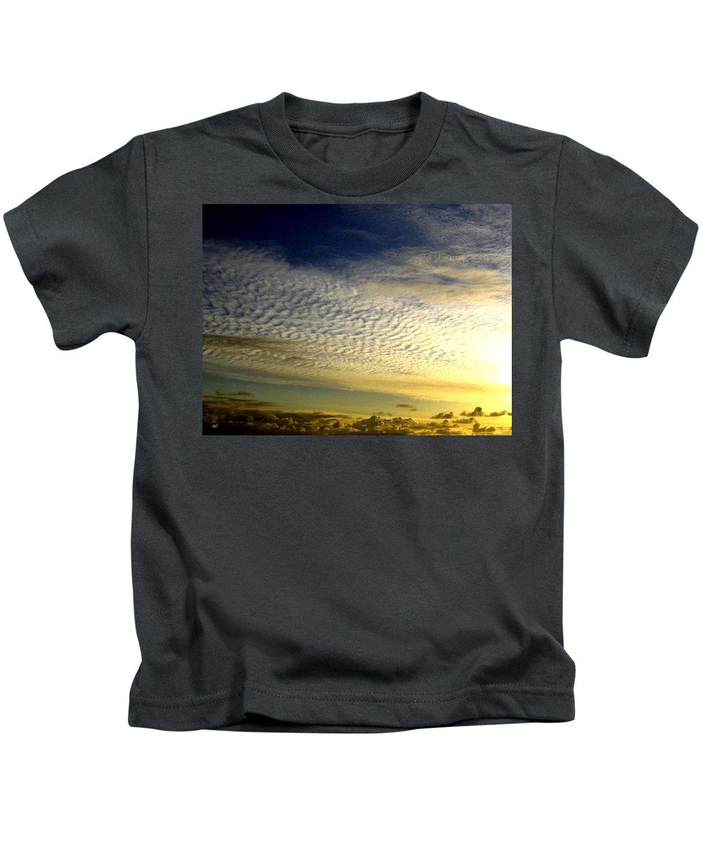 Sunset Kids T-Shirt featuring the photograph Golden Sunset by Will Borden