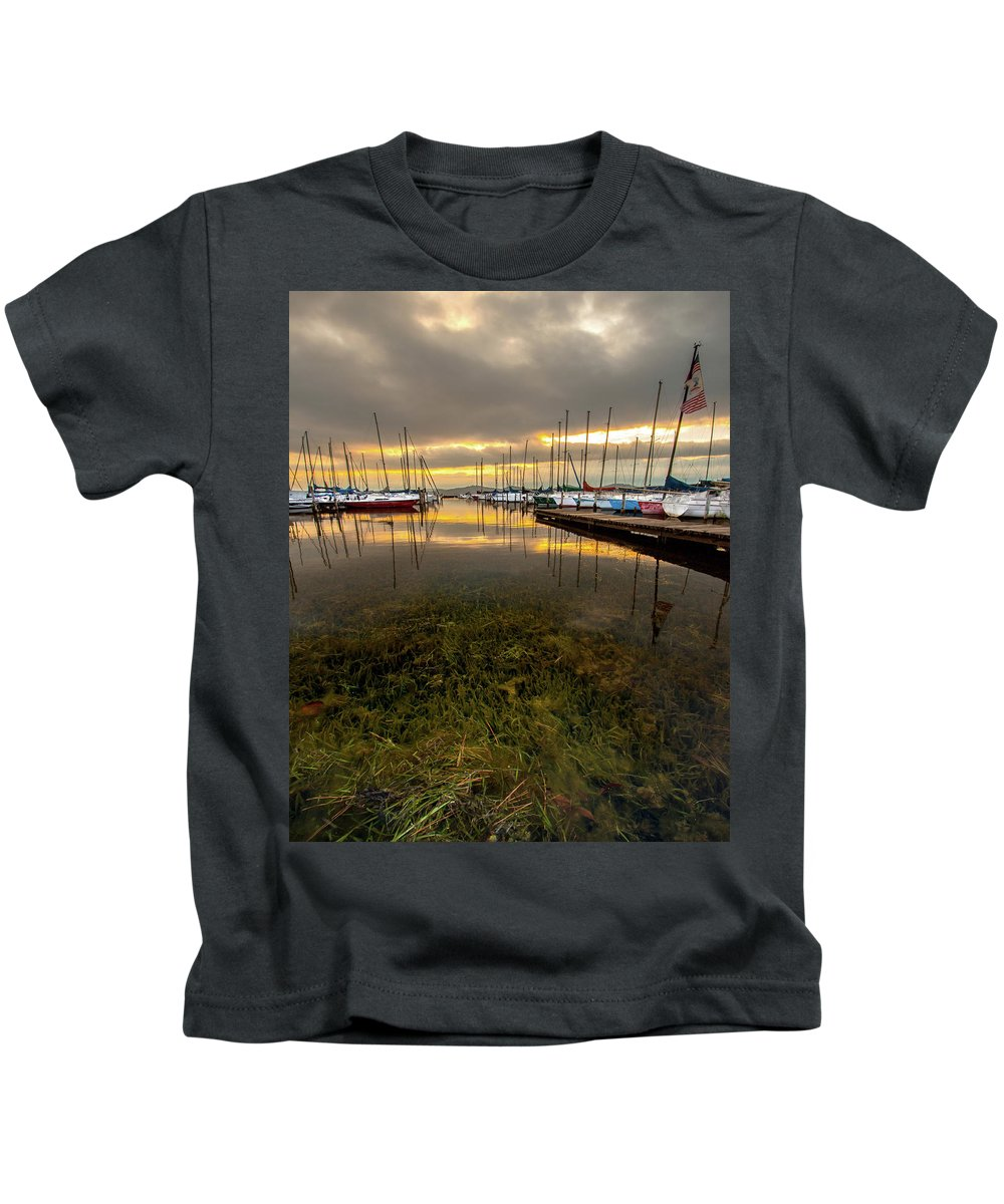 Boat Kids T-Shirt featuring the photograph Good Day To Sail by Joe Gilbreath
