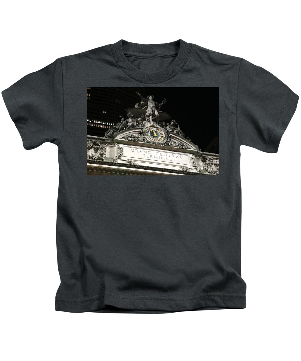 Destination Kids T-Shirt featuring the photograph Grand Central Station New York City by Douglas Sacha