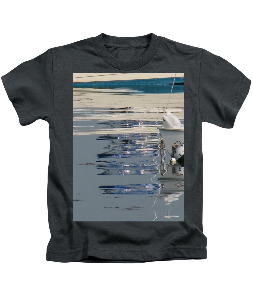 Ocean Kids T-Shirt featuring the photograph Great Day For Sailing by Kelly Mezzapelle