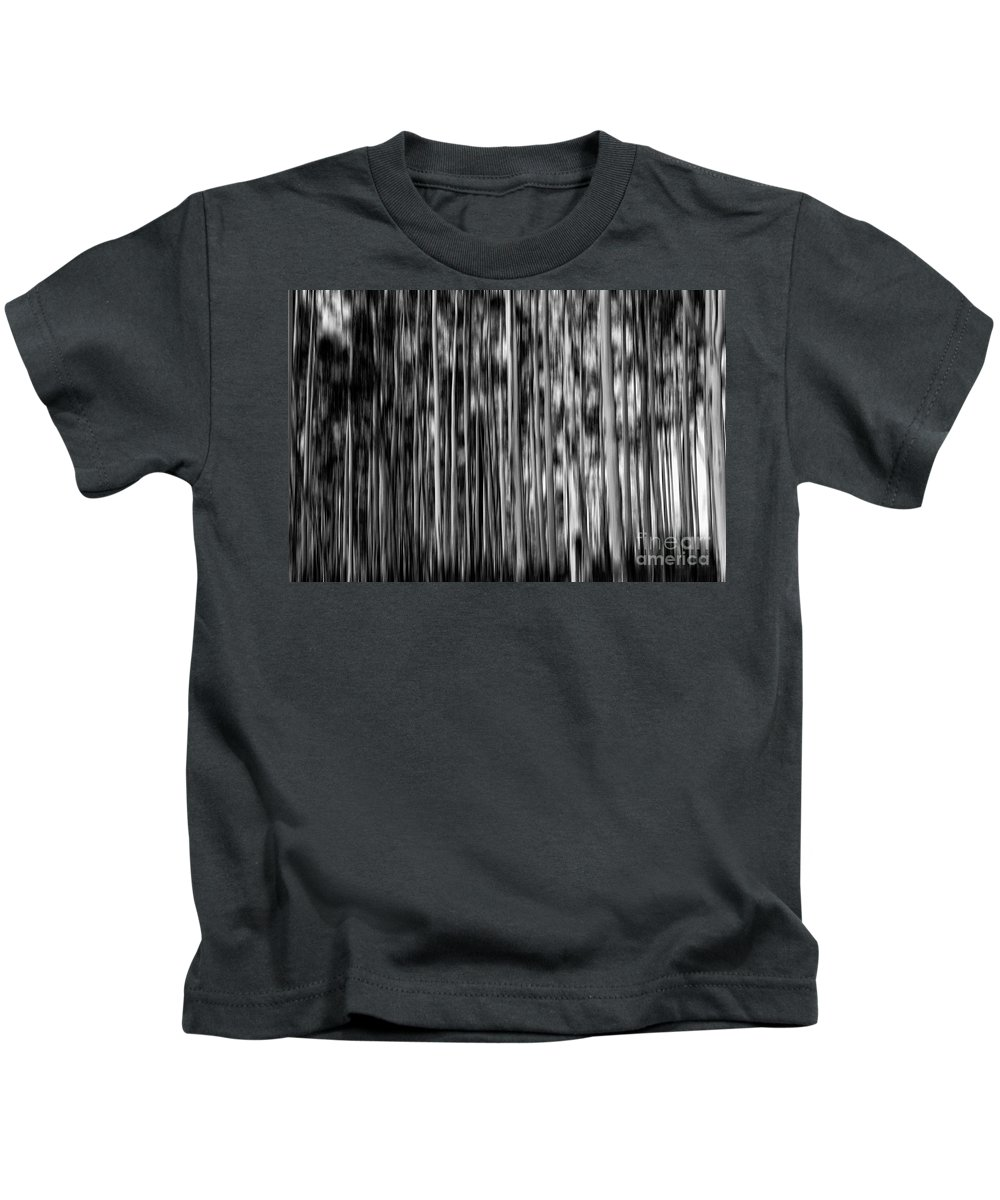 Gum Trees Kids T-Shirt featuring the photograph Gum trees in mono by Sheila Smart Fine Art Photography