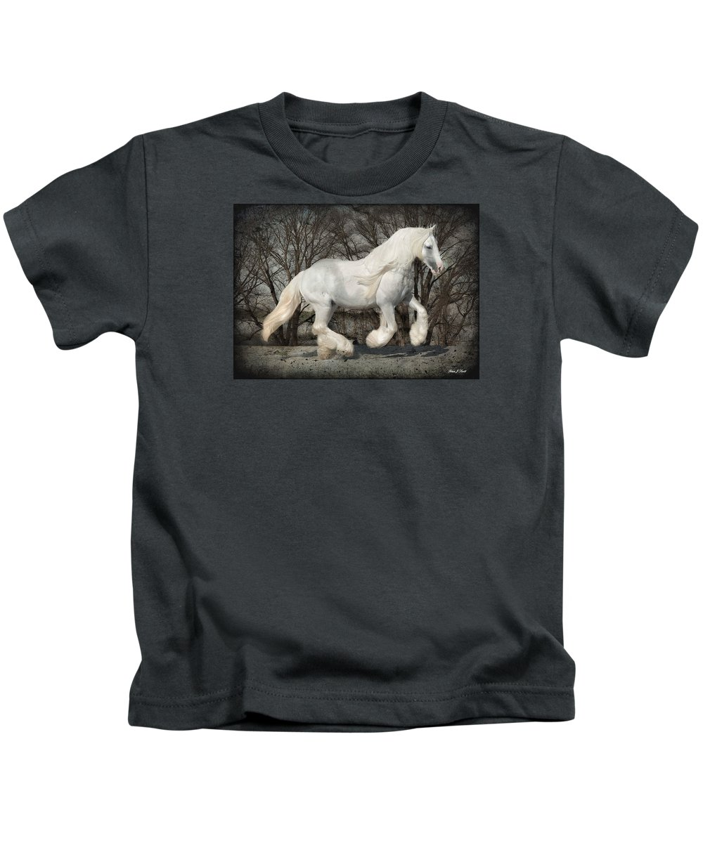 Gypsy Kids T-Shirt featuring the photograph Gypsy Forest by Fran J Scott