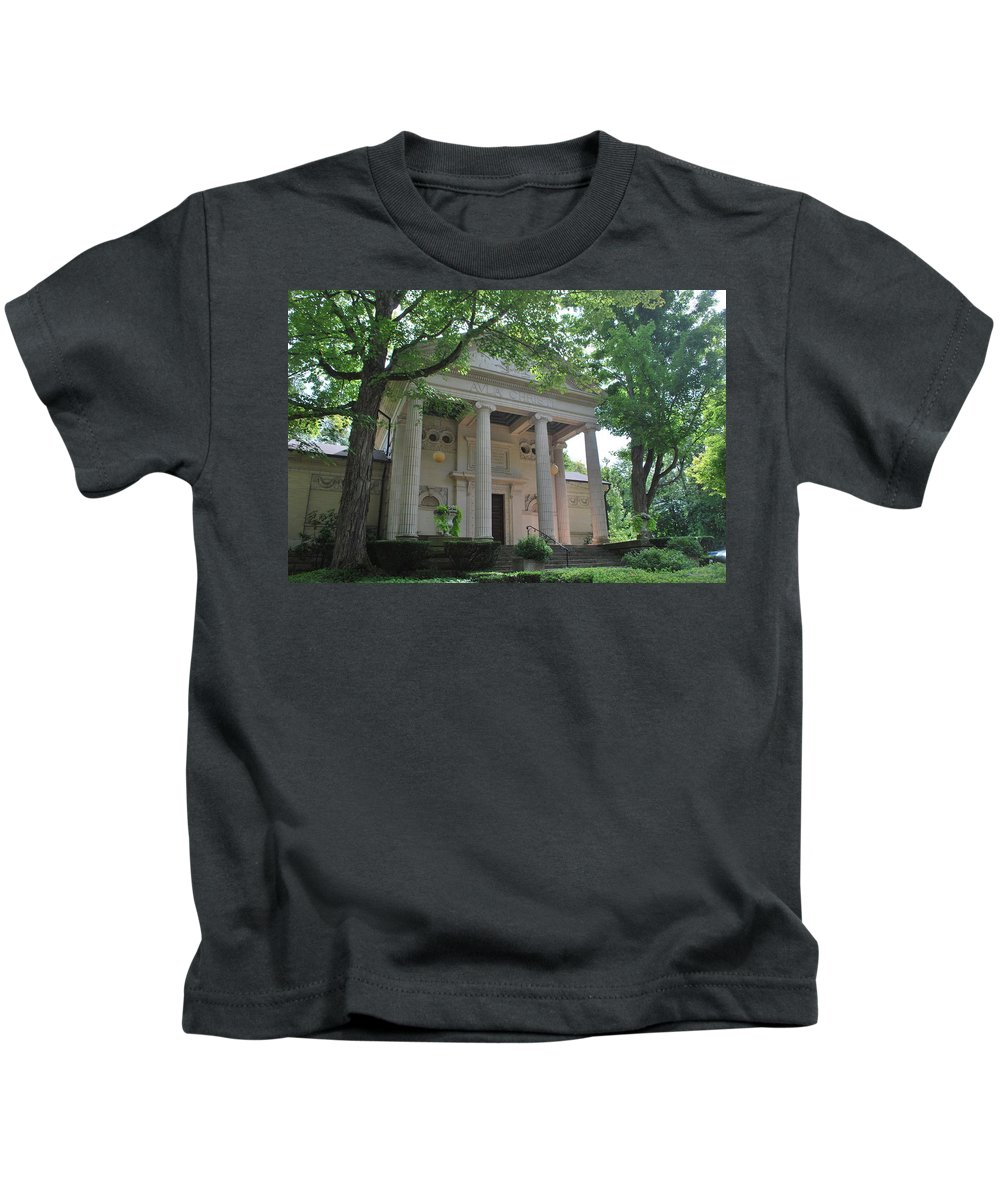 Landscape Kids T-Shirt featuring the photograph Hall Of Christ In Summer by Eileen Marie Ardillo