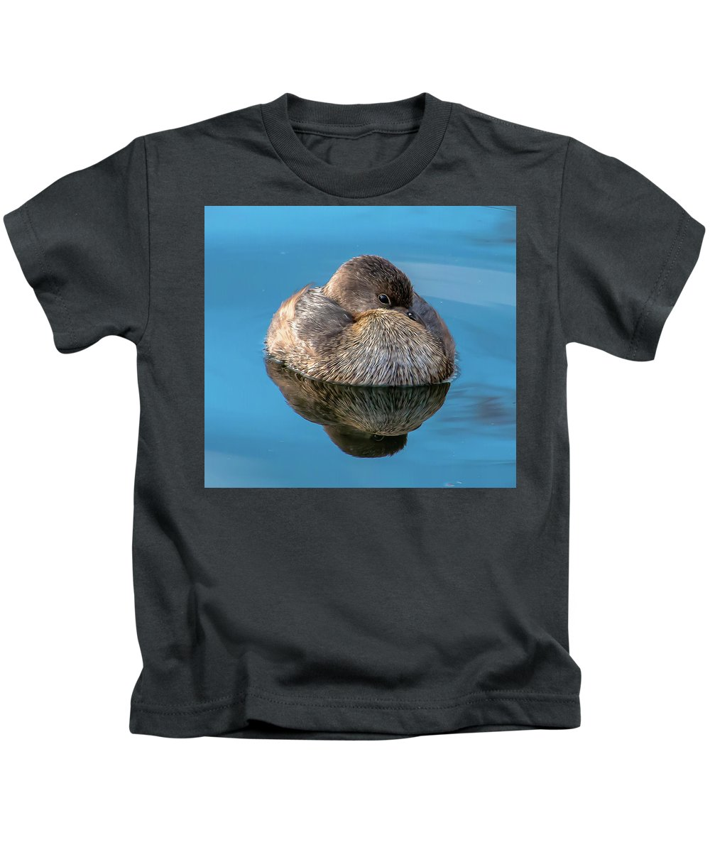 Bird Kids T-Shirt featuring the photograph Harmony by Kelly Lemen
