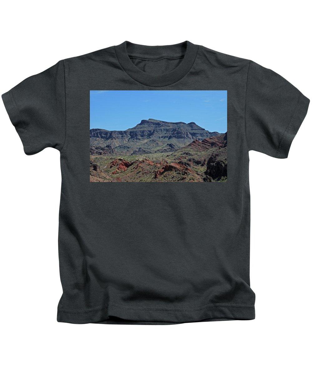 Kids T-Shirt featuring the photograph Havasu City Arizona by Carol Eliassen