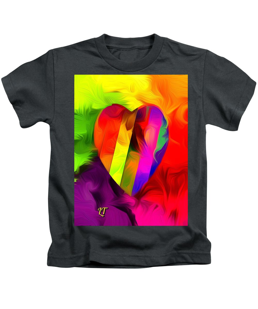Heart Kids T-Shirt featuring the photograph Heart Bright by Linda Todd
