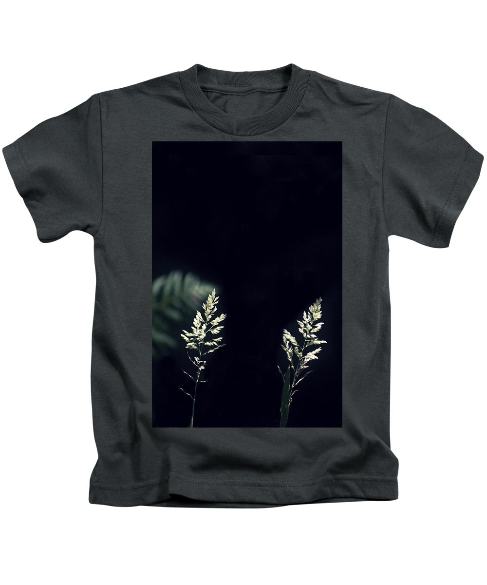Herbs Kids T-Shirt featuring the photograph Herbs In Light With Fern by Rodrigo Carbajal