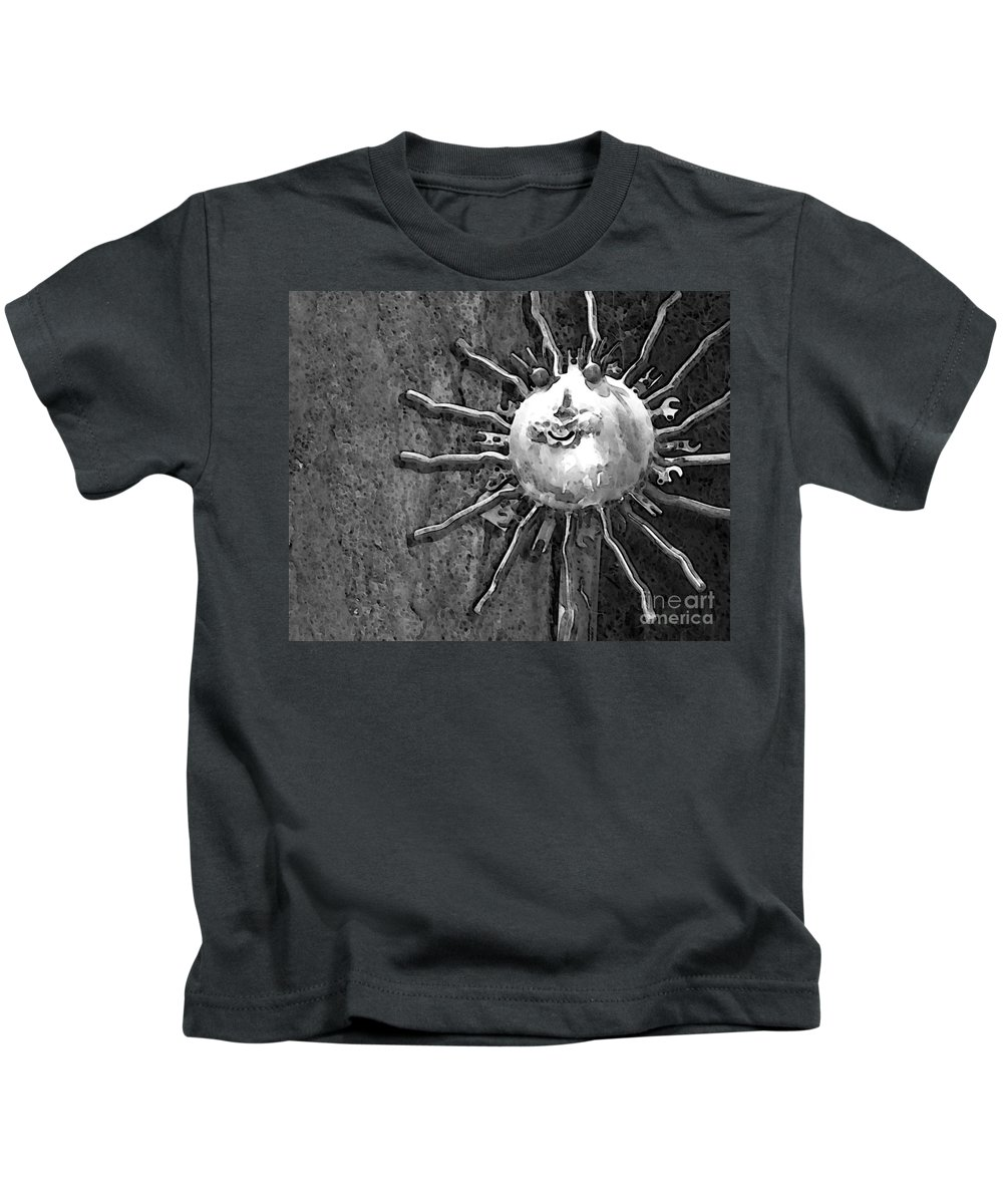 Sun Kids T-Shirt featuring the photograph Here Comes The Sun by Debbi Granruth