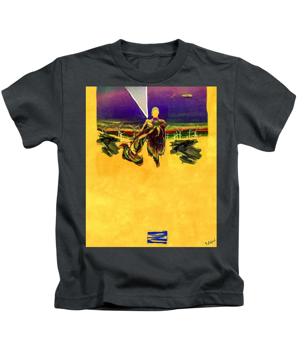 Asian Kids T-Shirt featuring the digital art High N Dry by Ryan Releford