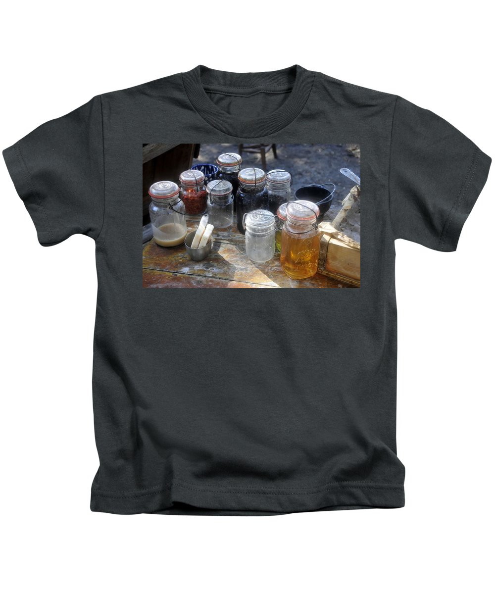 Homemade Kids T-Shirt featuring the photograph Homemade by David Lee Thompson