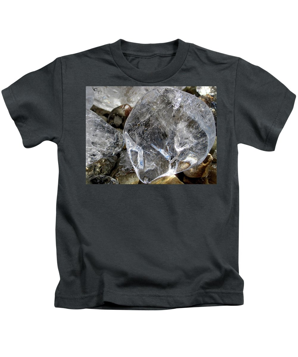 Ice Kids T-Shirt featuring the photograph Ice II by Alexandra Nielsen