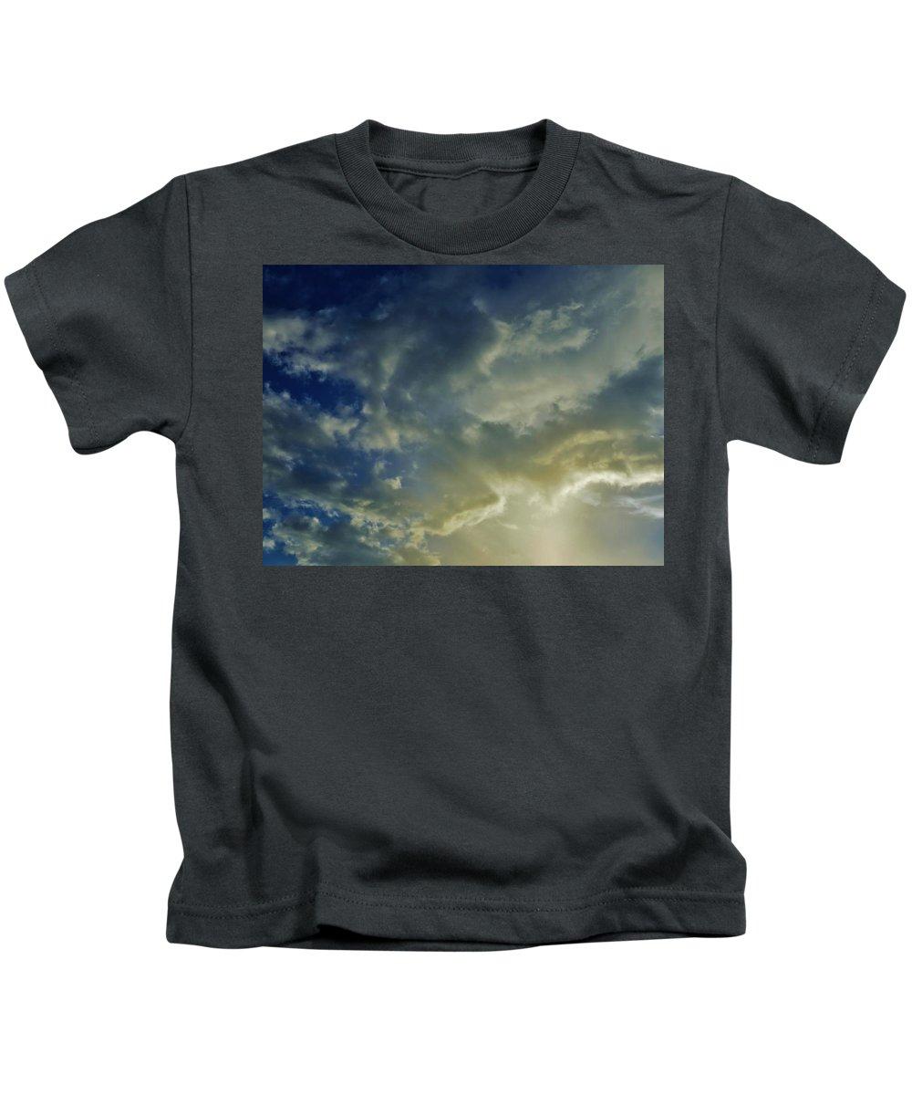 Sky Kids T-Shirt featuring the photograph Illuminated Sky by Mario Carta