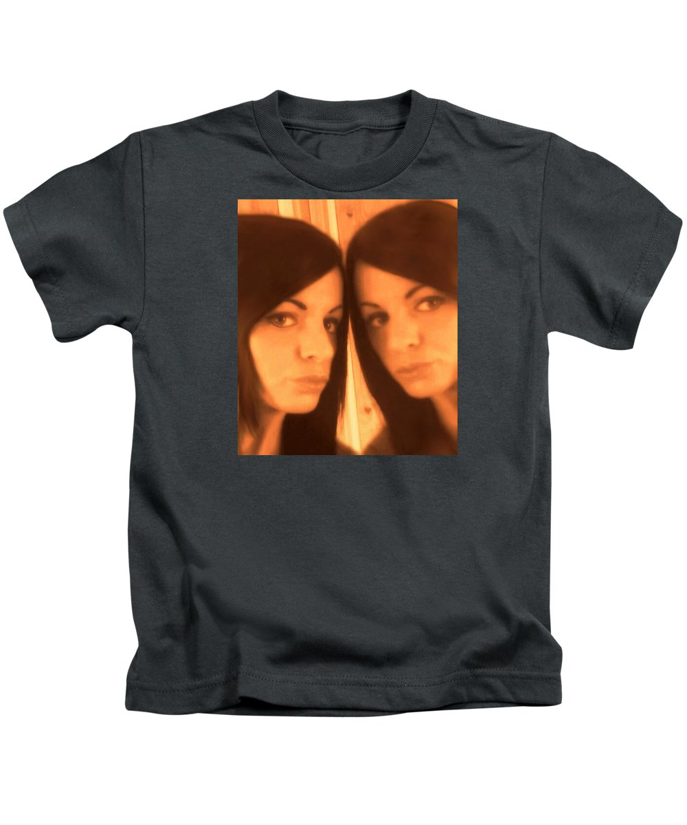 Mirror Kids T-Shirt featuring the photograph Immortal by Frances Lewis