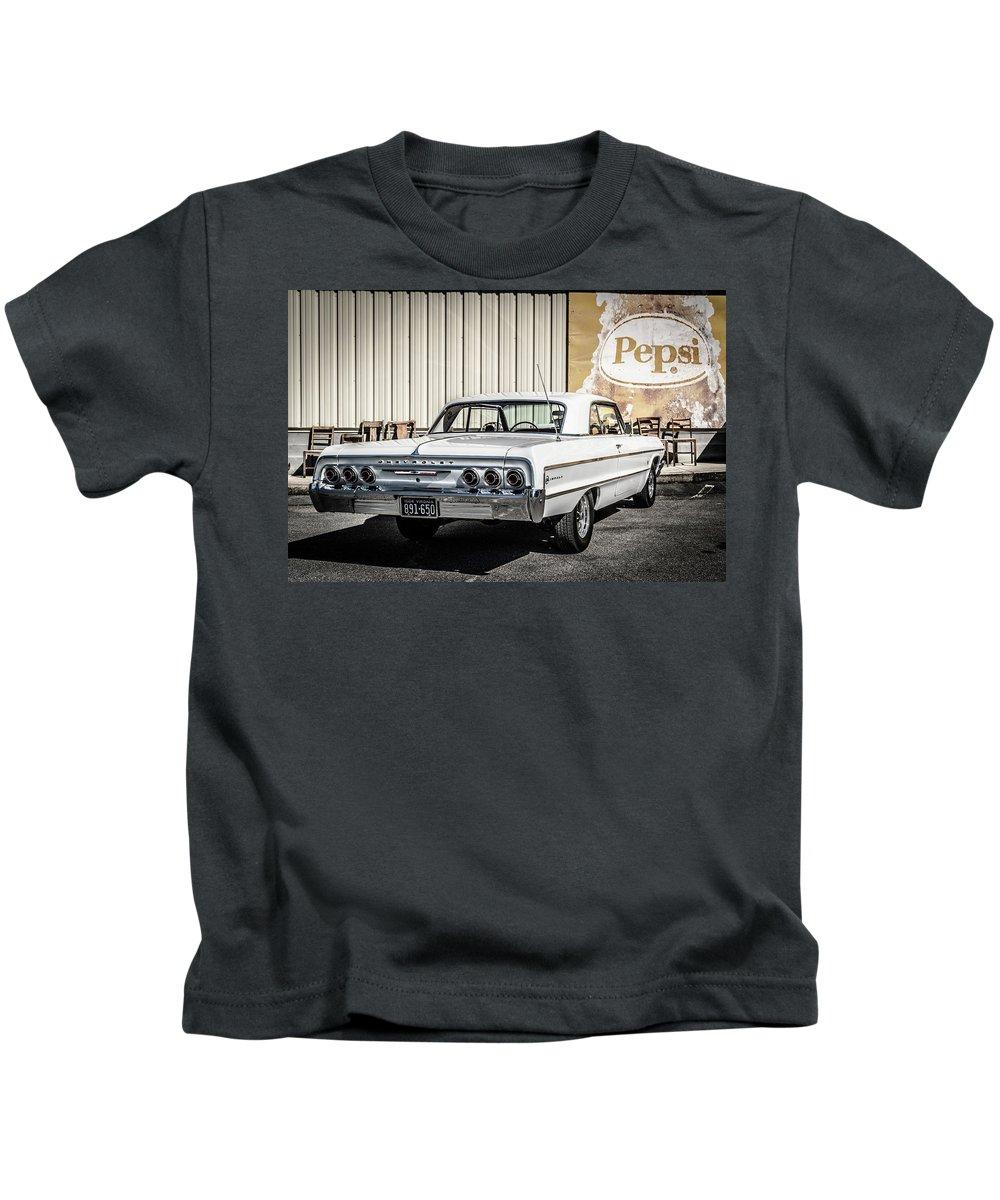 Impala Kids T-Shirt featuring the photograph Impala by Jim Love