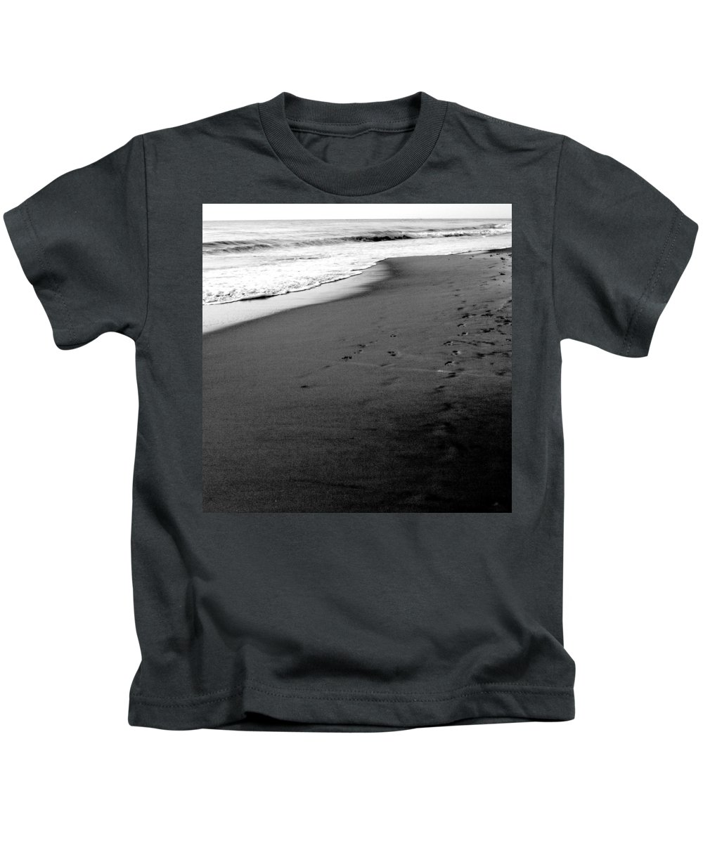 Photograph Kids T-Shirt featuring the photograph In My Thoughts by Jean Macaluso