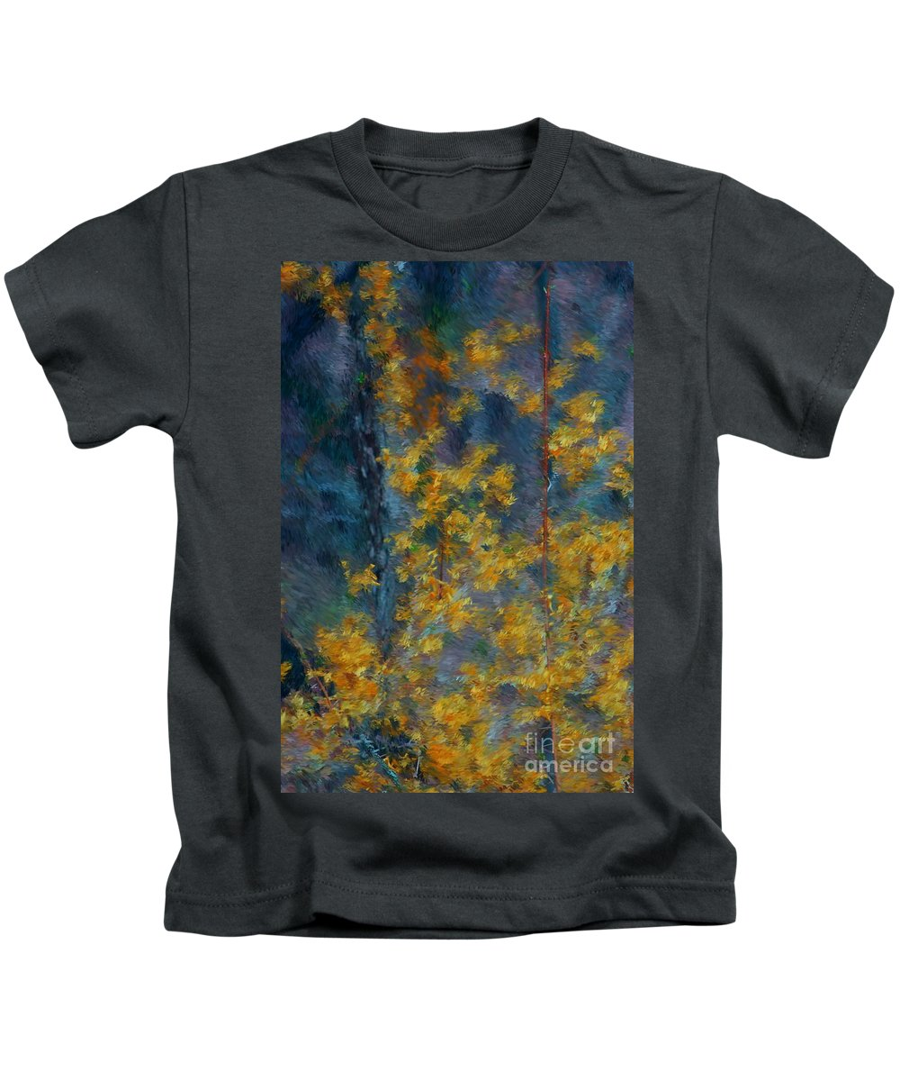 Kids T-Shirt featuring the photograph In The Woods by David Lane