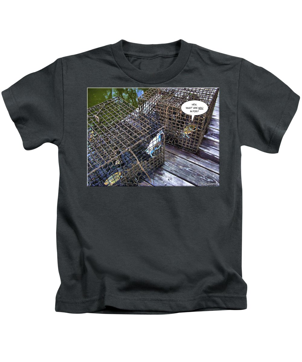 2d Kids T-Shirt featuring the photograph Incarceration by Brian Wallace