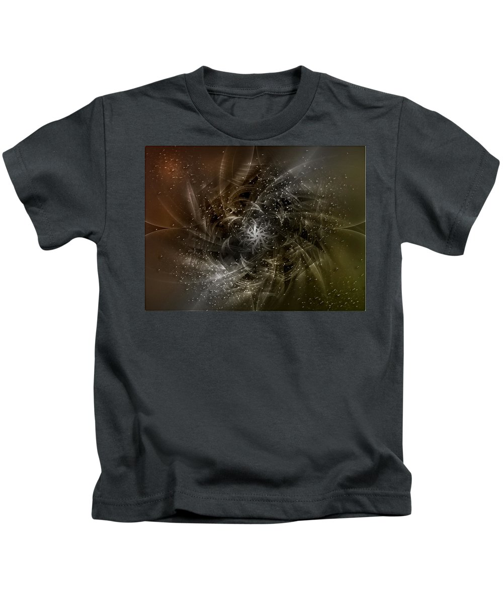 Digital Kids T-Shirt featuring the digital art Incoming by Andy Young