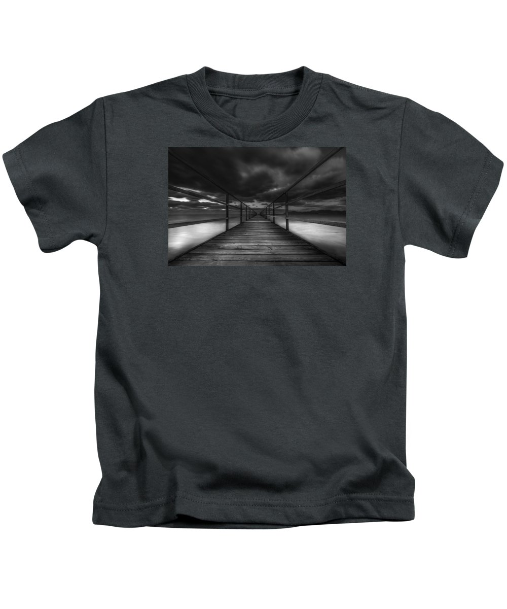 Art Kids T-Shirt featuring the photograph Infinity by Mike Drosos