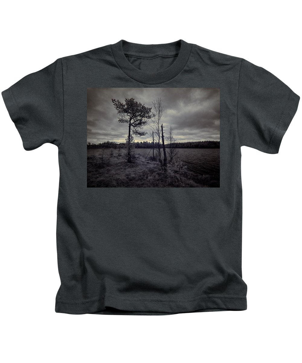 Finland Kids T-Shirt featuring the photograph Infradawn by Jouko Lehto
