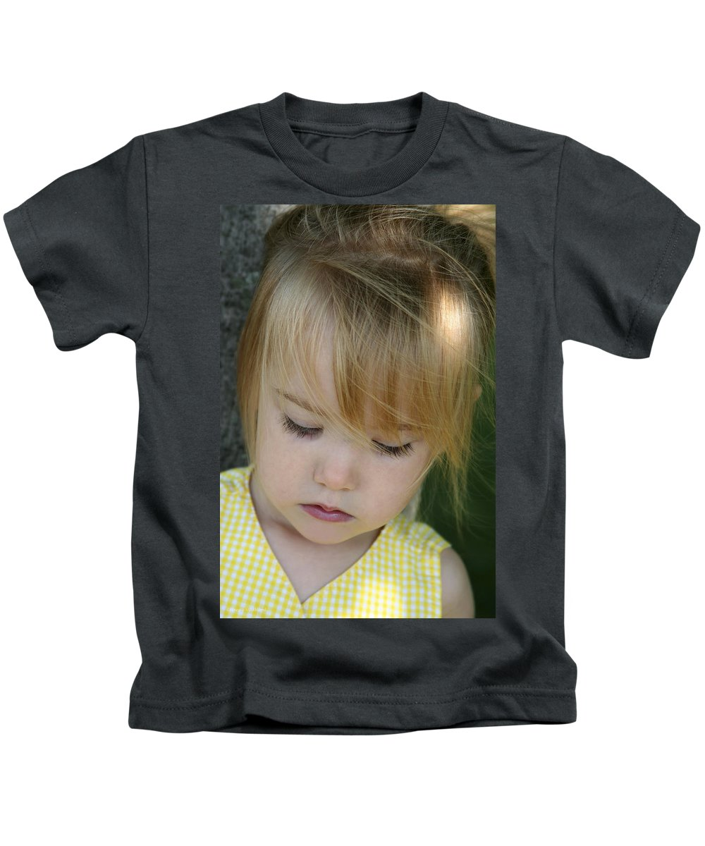 Angelic Kids T-Shirt featuring the photograph Innocence II by Margie Wildblood