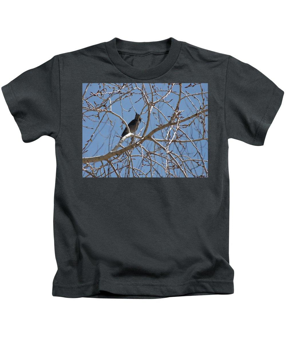 Birds Kids T-Shirt featuring the photograph Its A Good Day by Sarojinie De Silva