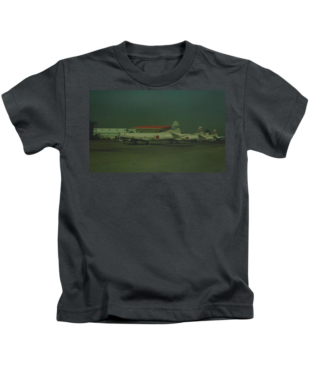 Airplane Kids T-Shirt featuring the photograph Japanese Airforce by Rob Hans