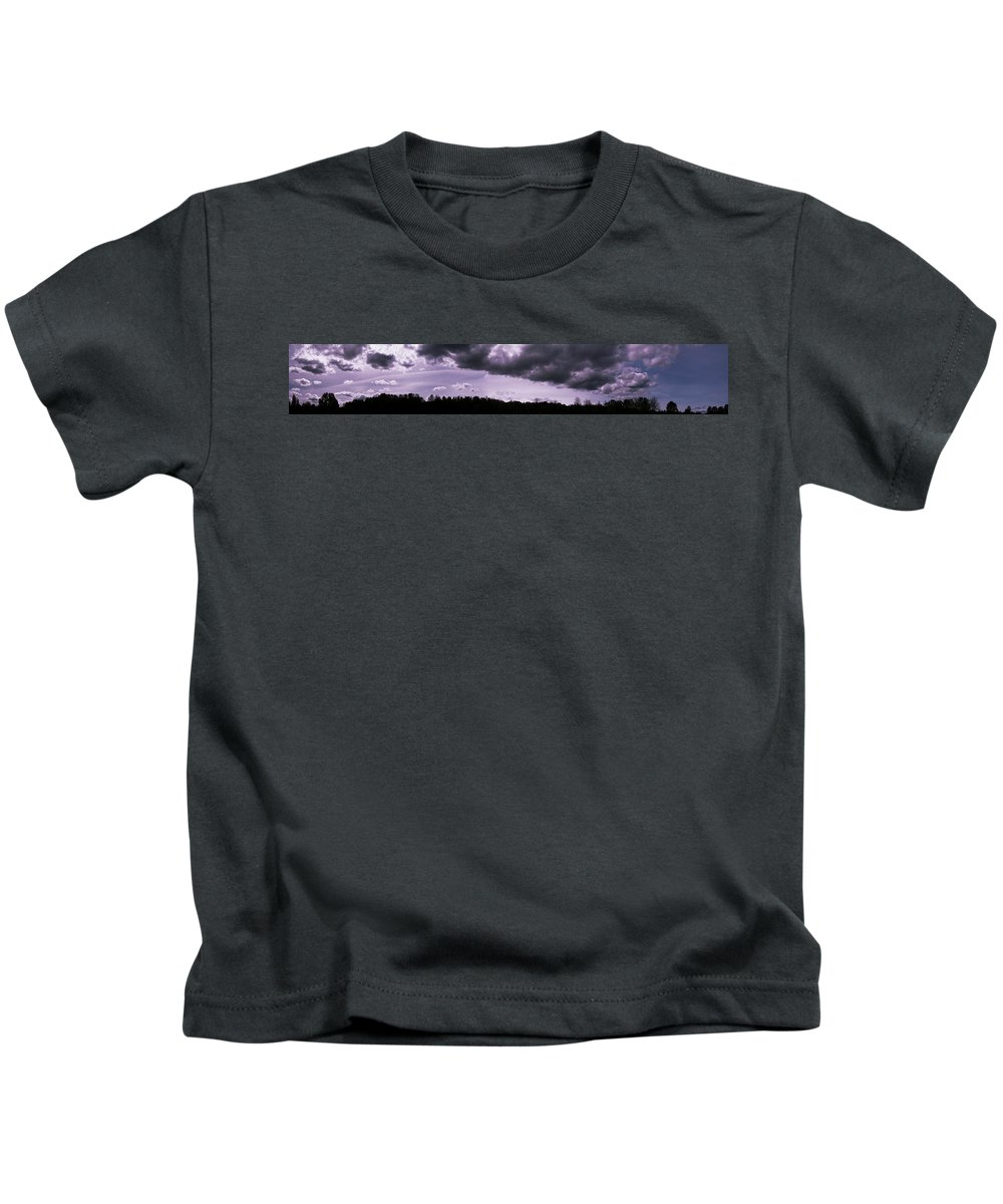 Jericho Kids T-Shirt featuring the photograph Jericho Beach Panorama by Monte Arnold
