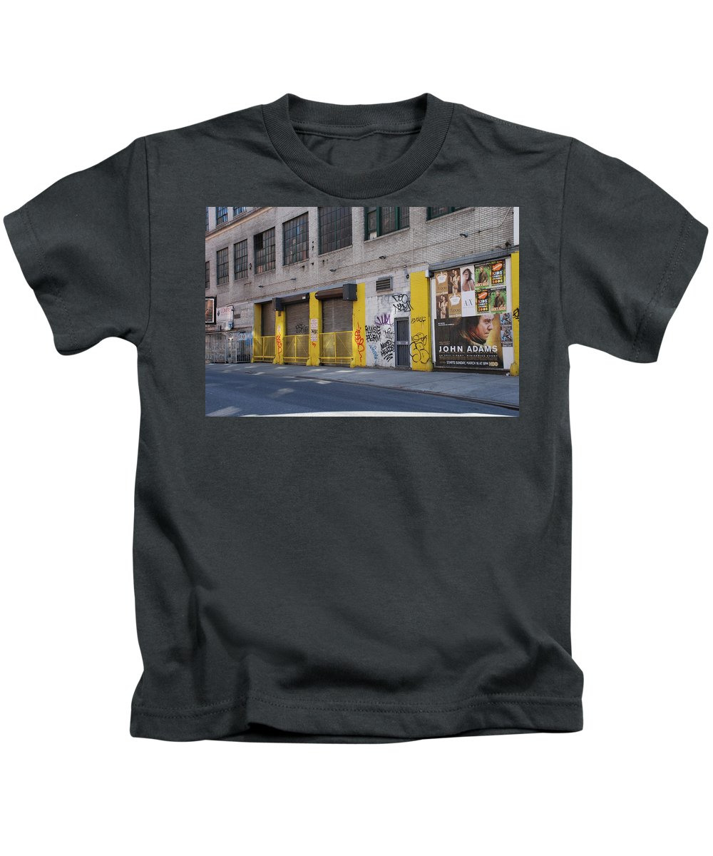 Architecture Kids T-Shirt featuring the photograph John Adams by Rob Hans