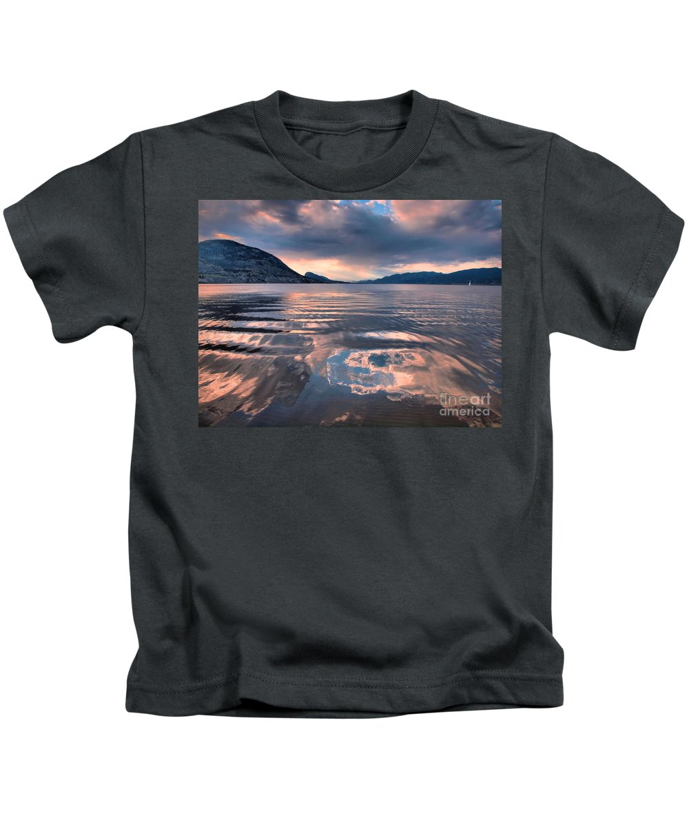 Sunset Kids T-Shirt featuring the photograph June 22 2010 by Tara Turner