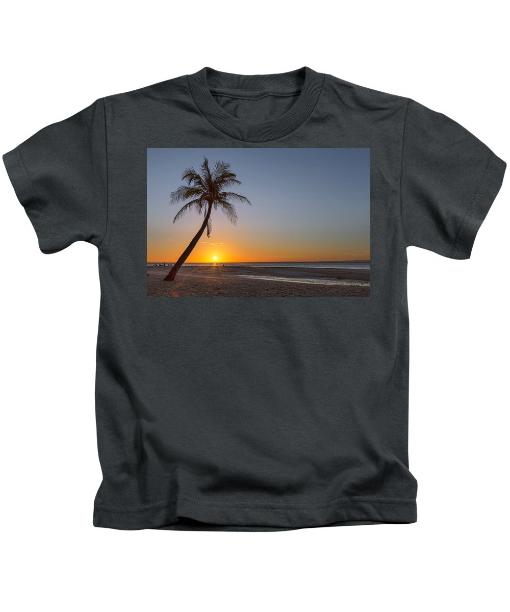 Beach Kids T-Shirt featuring the photograph Just Another Bantayan Island Sunrise by James BO Insogna