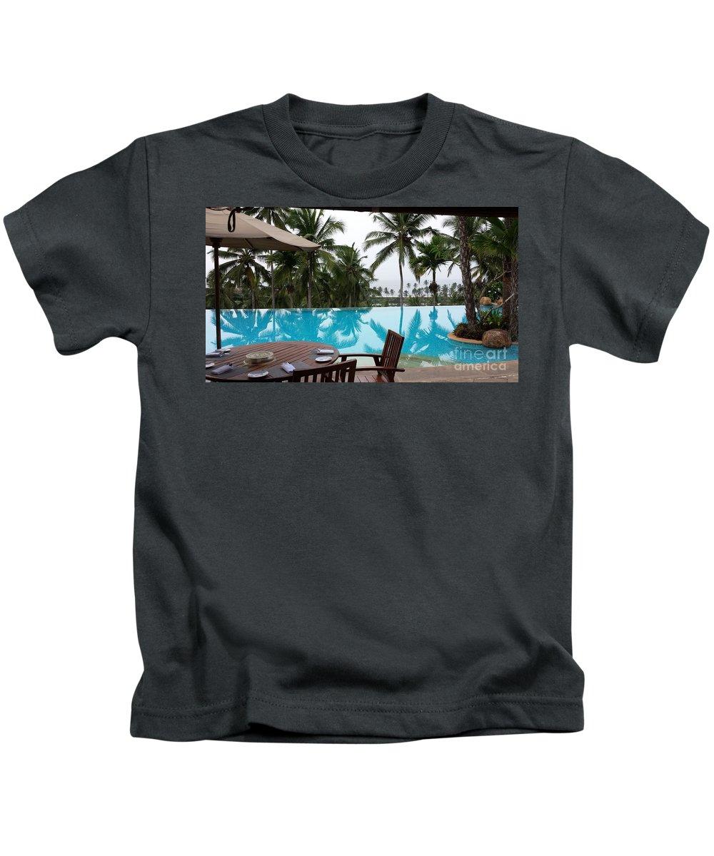 Resort Kids T-Shirt featuring the photograph Kerala by Ashwini Nirale