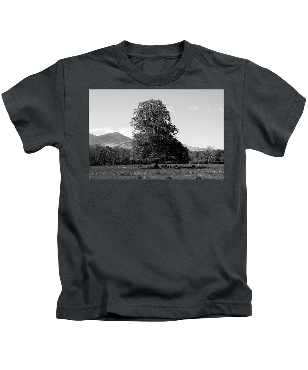 Eire Kids T-Shirt featuring the photograph Killarney National Park, County Kerry, Ireland by Aidan Moran