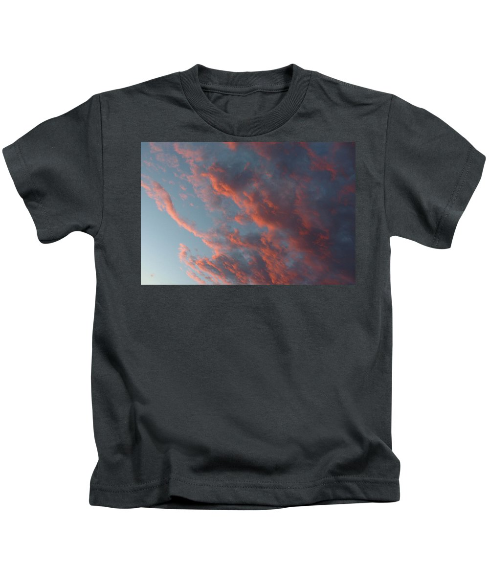 Sunset Kids T-Shirt featuring the photograph La Boca Sunset by Jerry McElroy