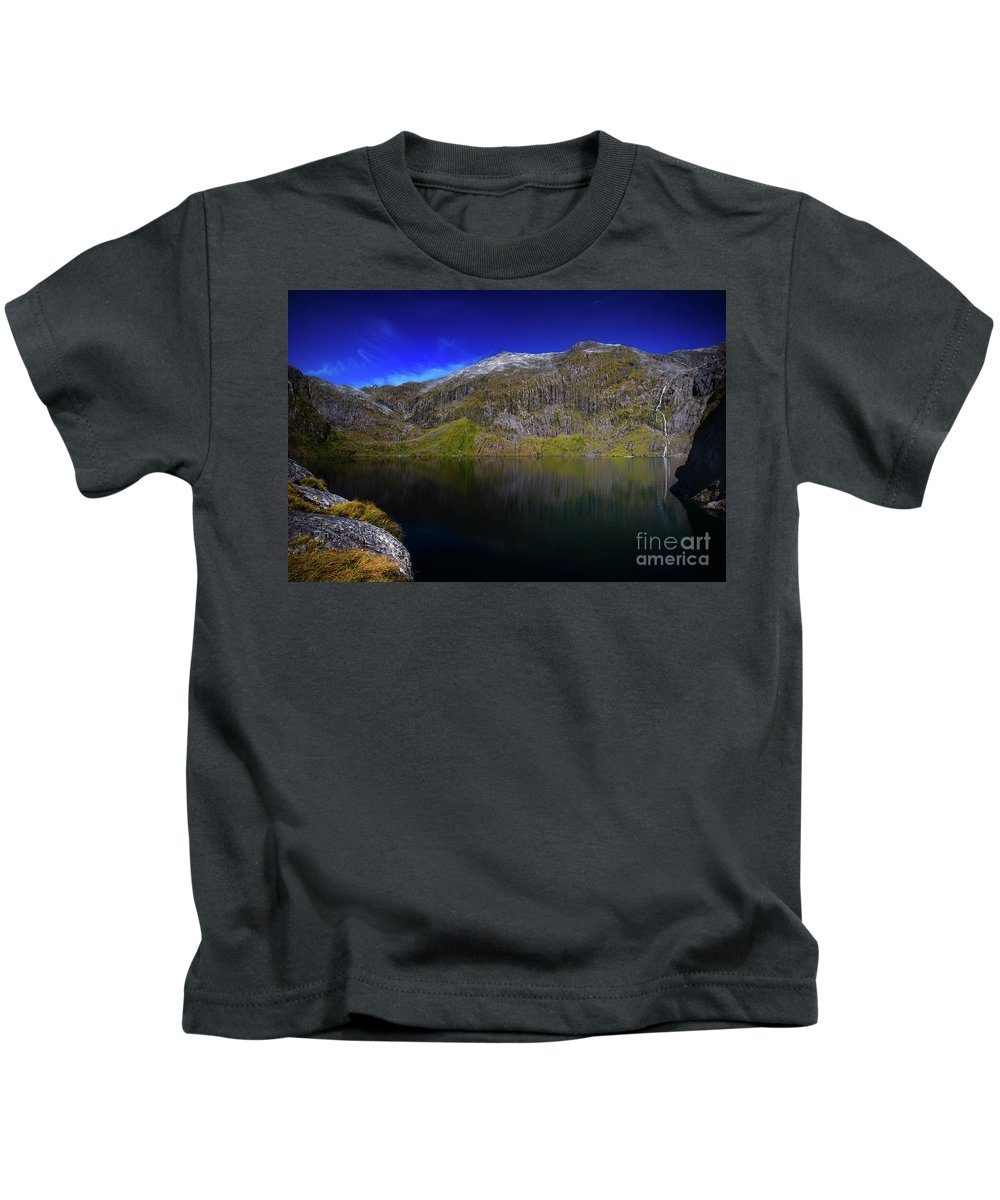 Lake Quill Kids T-Shirt featuring the photograph Lake Quill by Doug Sturgess