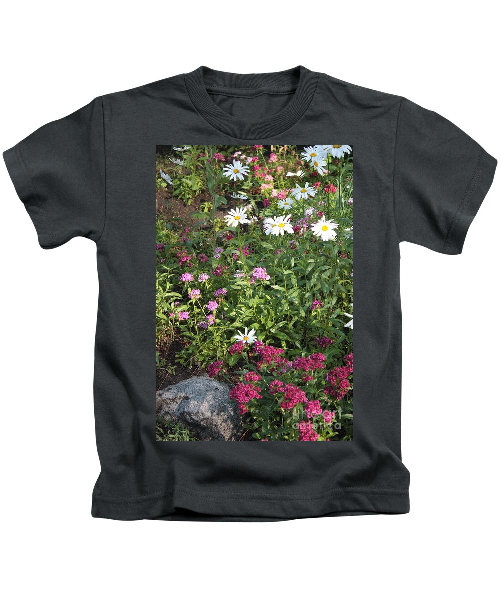 Garden Kids T-Shirt featuring the photograph Lake Tahoe Garden by Carol Groenen