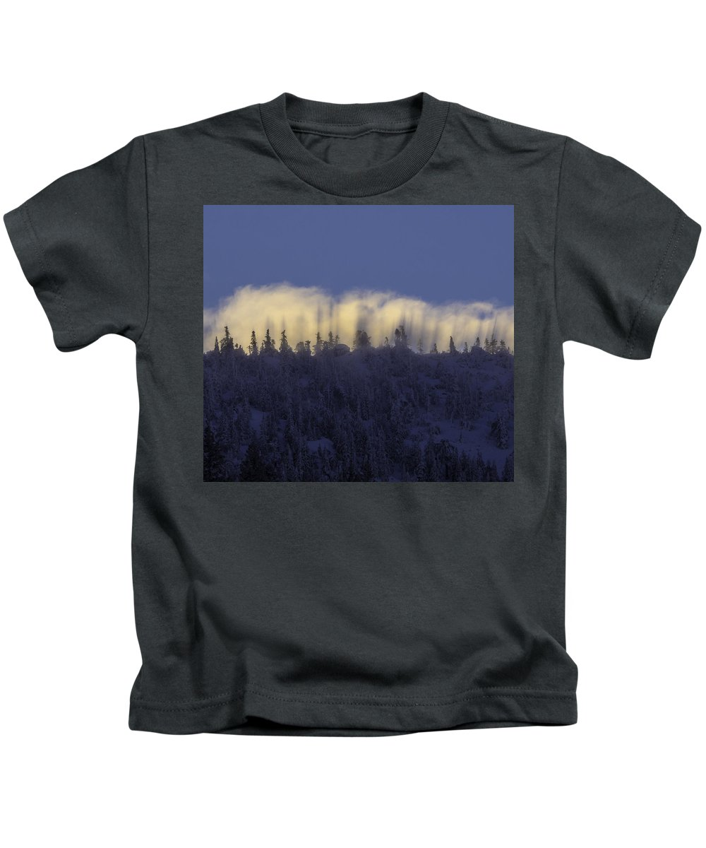 Lake Tahoe Sunsrise Kids T-Shirt featuring the photograph Lake Tahoe Sunsrise by Martin Gollery