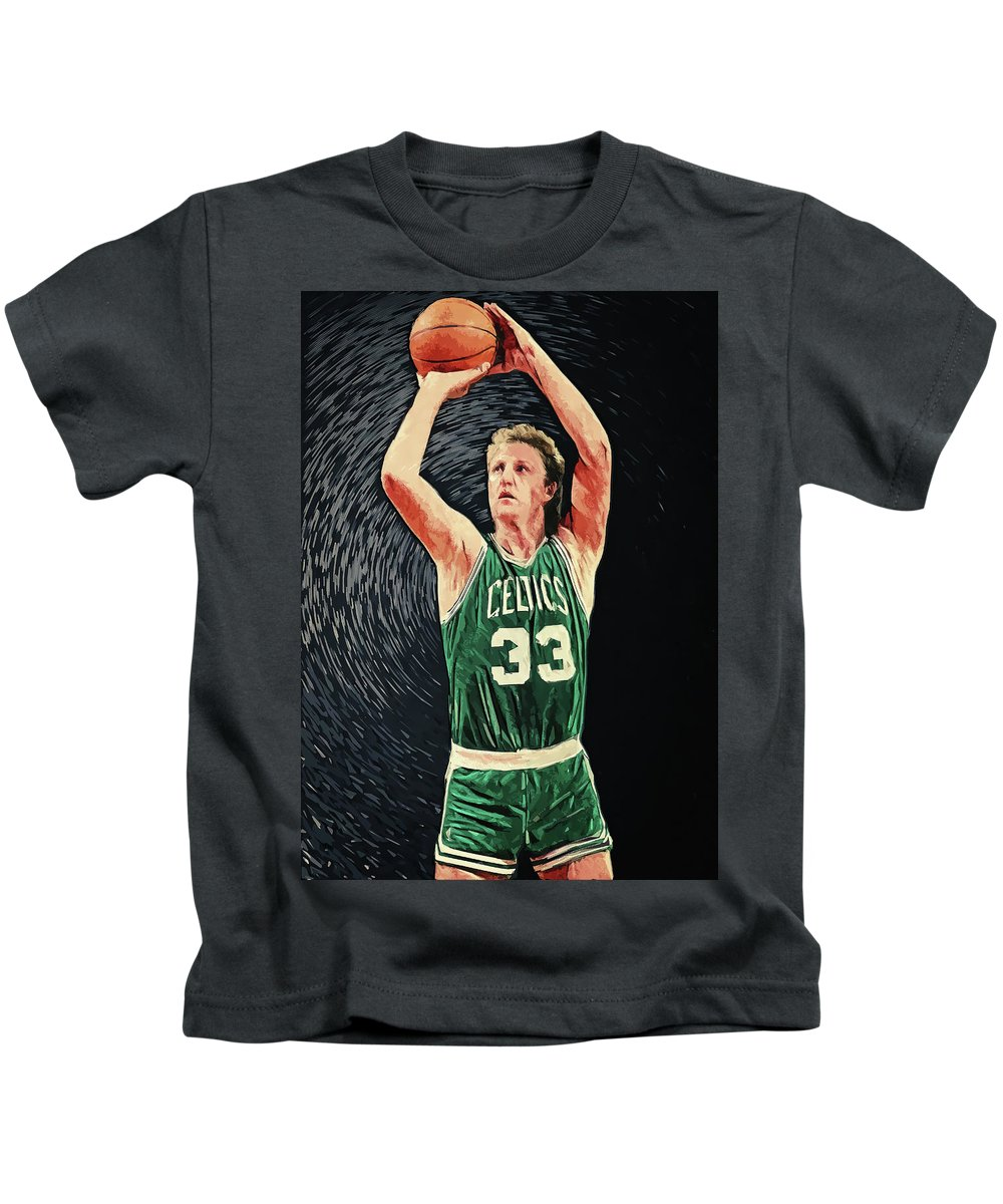 Larry Bird Kids T-Shirts